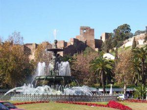Zamek Gibralfaro w Maladze