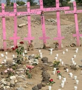 Różowe krzyże