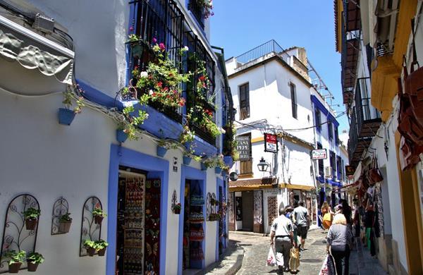 Dzielnica żydowska Kordoba