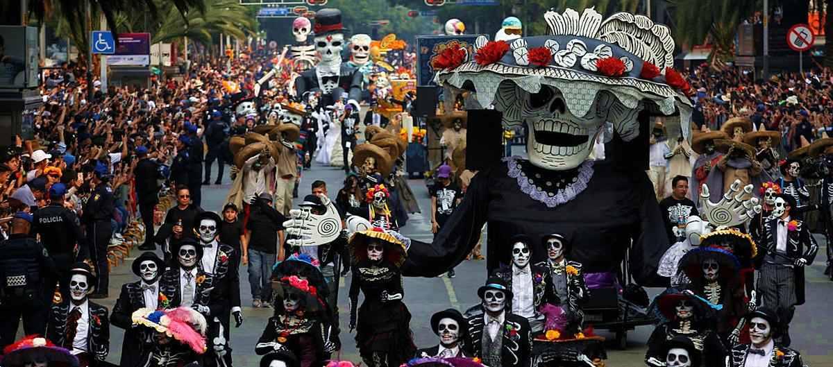 Święto zmarłych w Meksyku