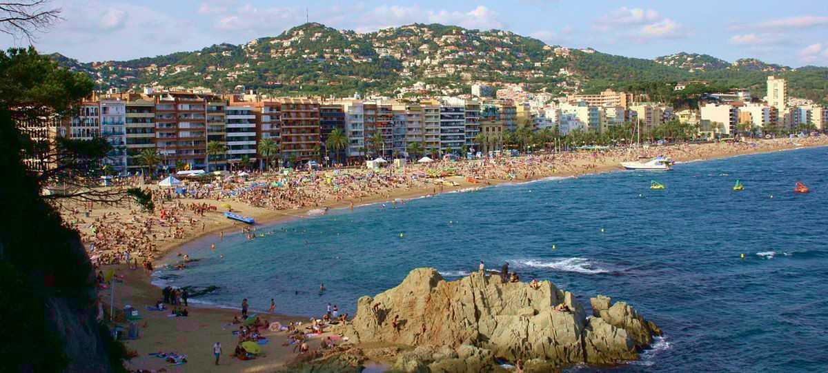 lloret de mar hiszpania