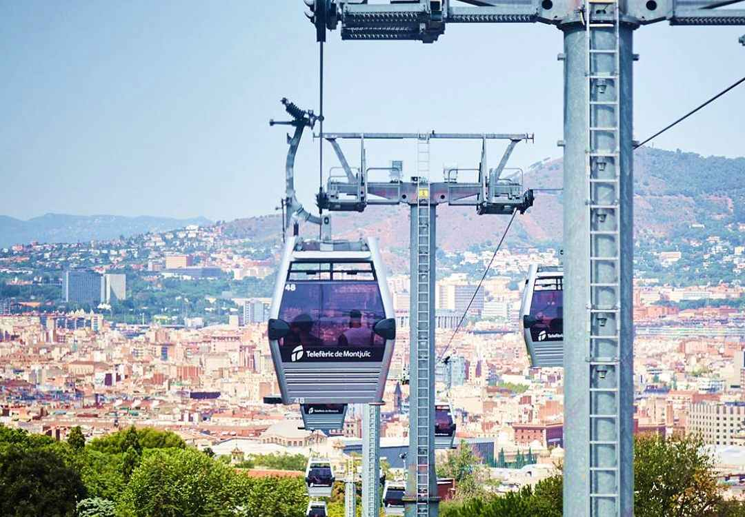 kolejka linowa Barcelona